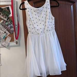 LF white dress great condition worn a few times